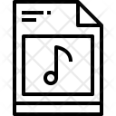 File Music Edit Icon