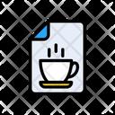 File Tea Document Icon