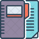 File Notebook Dossier Icon