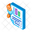 File Infographic Research Icon