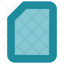 Paper Blank Page Icon
