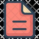 File Web Paper Icon