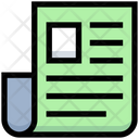 Business Financial File Icon