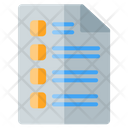 Paper Document Text Icon