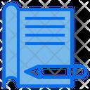 File Pencel Document Icon