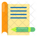 File Pencel Document Icon