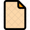 File New File Blank Paper Icon