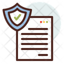 File Secure File Secure Document Icon