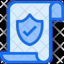 File Shield Check Icon
