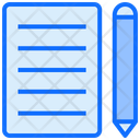 File Document Writing Icon
