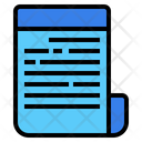 File Paper Sheet Icon