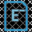 File Page Paper Icon