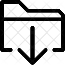 File Export Move Icon