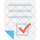 File Accepted Check Icon