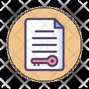 File Access Access Access Control Icon