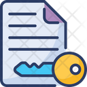 Document Access File Icon