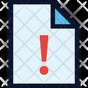 File Alert Icon
