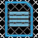 File Alignment Document File Icon