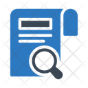 Search Document Files Icon