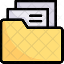 File And Folder Document Folder Archive Icon