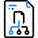 File Storage Architecture Icon
