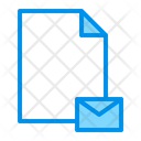 Attachment Document Email Icon