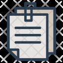 Files Attachment Document Icon