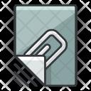 Attachment File Attach Icon
