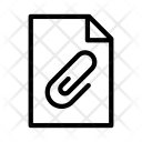 Paper Clip File Icon