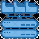 File Backup Big Data Blockchain Icon