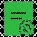 File Cancel File Error File Icon