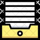 File Box Paper Box Paper Icon