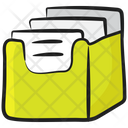 File Cabinet Archives Caddy Icon