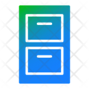 File Cabinet Drawer Cabinet Icon