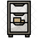 File Cabinet Office Material Storage Icon