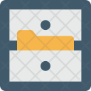 File Cabinet Drawer Icon