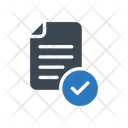 File Checked Certified Icon