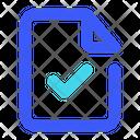 File Checklist Icon