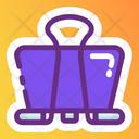 File Clipper File Holder File Binder Icon