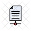 File Document Connection Icon