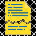 File Cut File Papar Icon