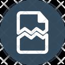 Broken Damaged Document Icon