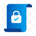 File Data Document Privacy Security Icon