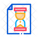 Hourglass Sandglass File Icon