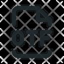 Design Otf File Icon