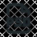 File Design Psd Icon
