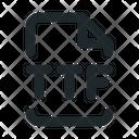 Design Ttf File Icon