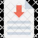 File Download Document Icon