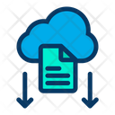 Download File Cloud Icon