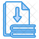 File Download Paper Arrow Icon